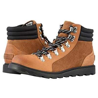 SOREL Ainsleytm Conquest (Camel Brown/Black Full Grain Leather) Women