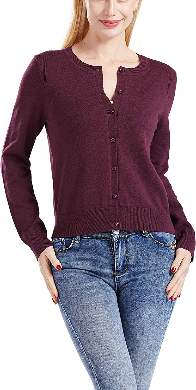 Gilboa Women's 100% Cotton Cardigan Sweater