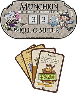 Steve Jackson Games Munchkin Kill-O-Meter Guest Artist Edition Card Game