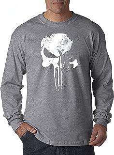 New Way 687 - Unisex Long-Sleeve T-Shirt New Daredevil Punisher Skull Logo