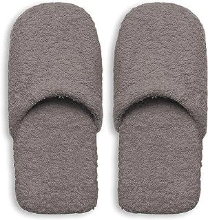 Excelsa Bagno Caldo Pantofole Da Uomo, Spugna, Grigio, 30x12x5 cm