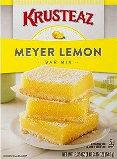 Krusteaz Lemon Bars Spreme Mix, 19.35 OZ