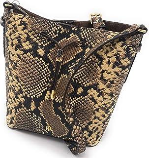 Lauren Ralph Lauren Mini Drawstring Bucket Bag