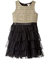 Nanette Lepore Kids - Lurex Tweed Bodice with Layered Tulle Bottom (Little Kids/Big Kids)