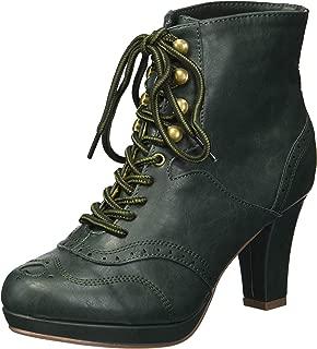Bettie Page Women's Bp303-adamay Mid Calf Boot