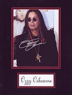 Ozzy Osbourne 8 X 10 Photo Autograph on Glossy Photo Paper