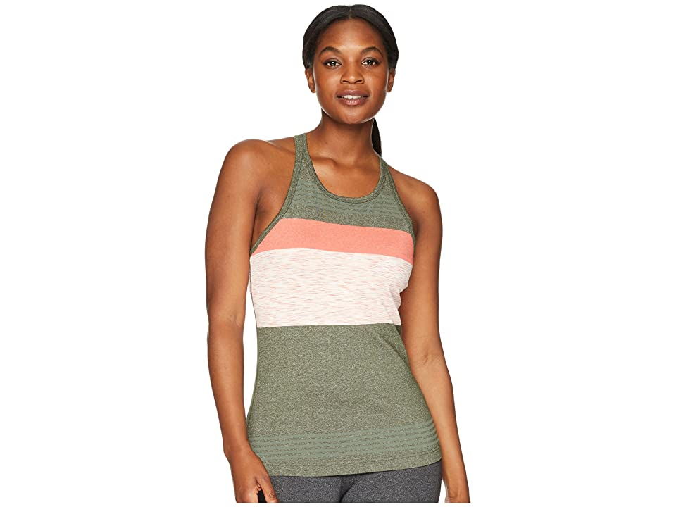 Prana Alois Top (Forest Heather Stripe) Women