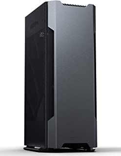 Phanteks Evolv Shift Air (PH-ES217A_AG) Mini-ITX Case, Mesh Fabric Side Panels, Aluminum Panels, RGB Controller, Anthracite Grey