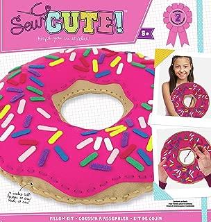 Colorbok 73976 Sew Cute Felt Pillow Donut, Multicolor