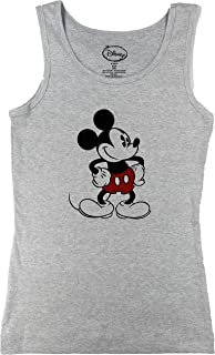 Womens Retro Old School Mickey Mouse Tank Top