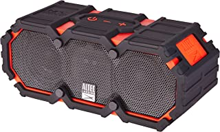 Altec Lansing iMW575 Life Jacket Bluetooth Speaker Waterproof Wireless Bluetooth Speaker, Hands-Free Extended Battery Outdoor Speaker, Ultra-Portable 10ft Range, Red