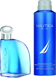 Nautica Blue 2pc Set - 1.7oz Eau De Toillette + 6.0 oz Body Spray