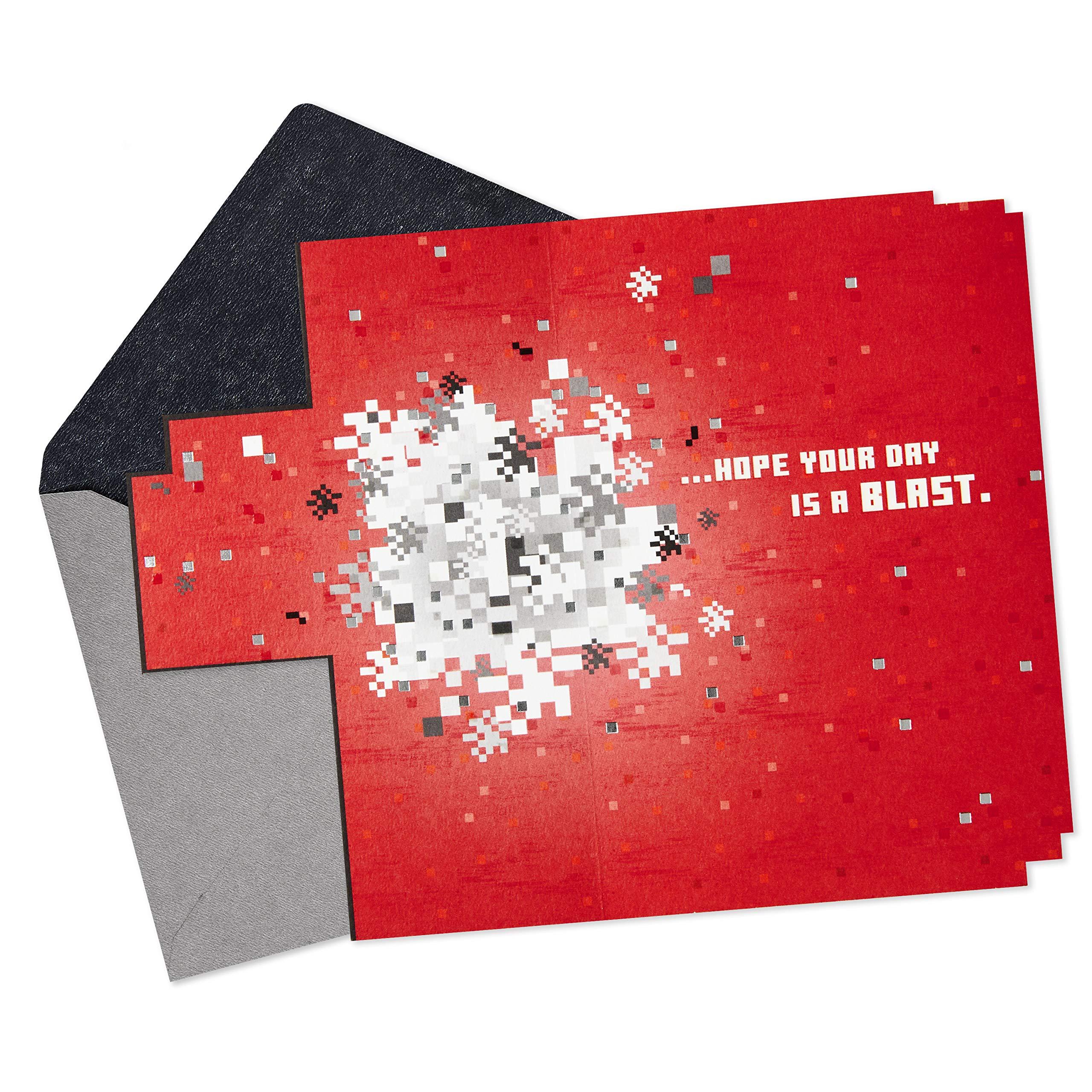 Hallmark Minecraft Valentines Day Card or Birthday Card (Just Creeping by)
