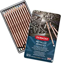 Derwent METALLIC PENCIL TIN MULTI CLRS