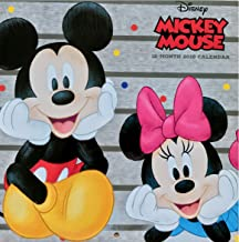 Disney Mickey Mouse 2018 Calendar Kids Room Decor