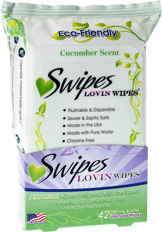 Swipes Lovin All Natural Intimate Feminine Wipes | Aloe  Vitami