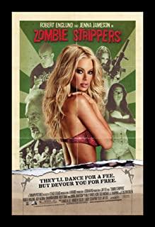 Wallspace 11x17 Framed Movie Poster - Zombie Strippers