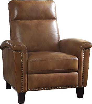Lexicon Onofre Push Back Reclining Chair, Brown