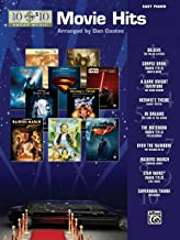 10 for 10 Sheet Music Top Movie Hits: Easy Piano Solos