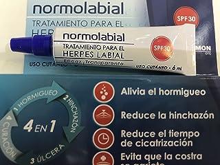 Precio herpes labial crema para
