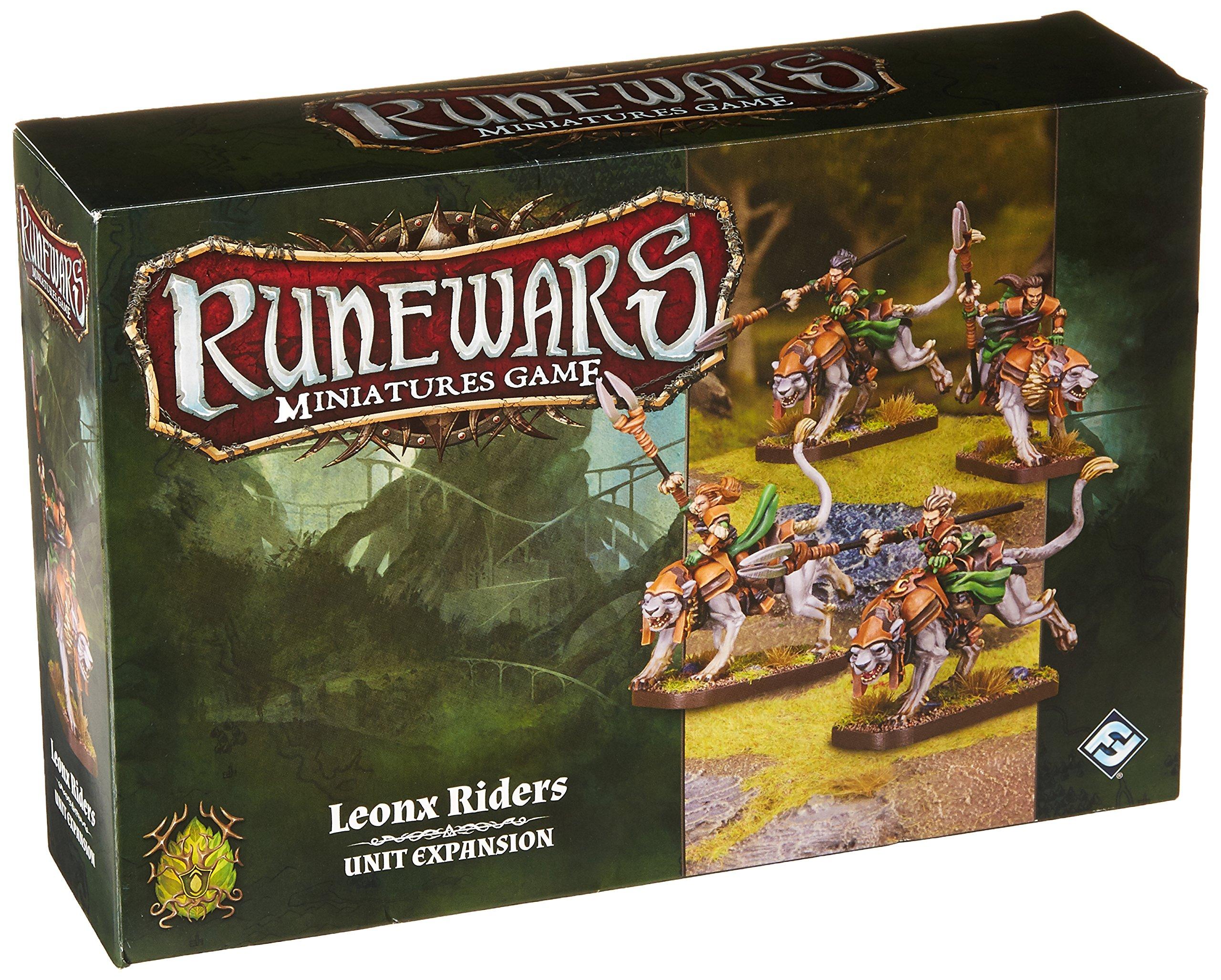 Fantasy Flight Games FFGRWM17 Leonx Riders Expansion Pack ...
