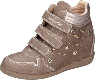 Nero Giardini Sneaker Bambina Pelle Scamosciata Beige 28 EU