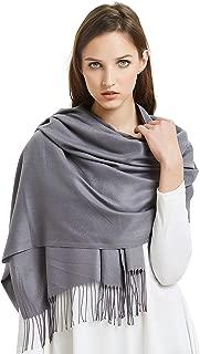 VIVIAN & VINCENT Large Extra Soft Cashmere Blend Women Pashmina Shawl Wrap Stole Scarf