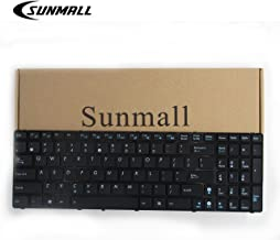 SUNMALL Keyboard Replacement Compatible with A52 F50 X53E A53S K53 K53S K54 G73S X73E Series Laptop Black US Layout(6 Months Warranty)