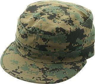 Military Fatigue Hat Field Patrol Tactical Army Cap   Adjustable Hook & Loop Closure   Camo or Solid Colors