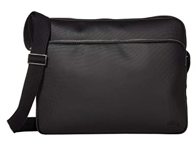 Lacoste Classic Airline Bag (Black 2) Messenger Bags