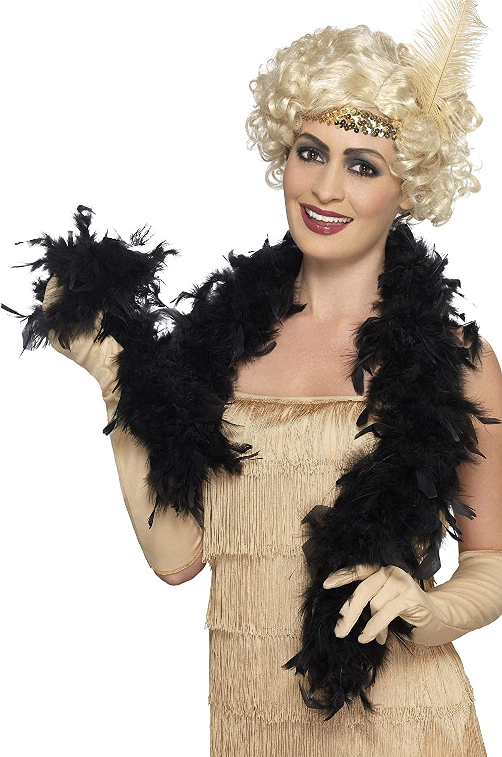 Yellow Accessory for Fancy Dress Boa Show Quality