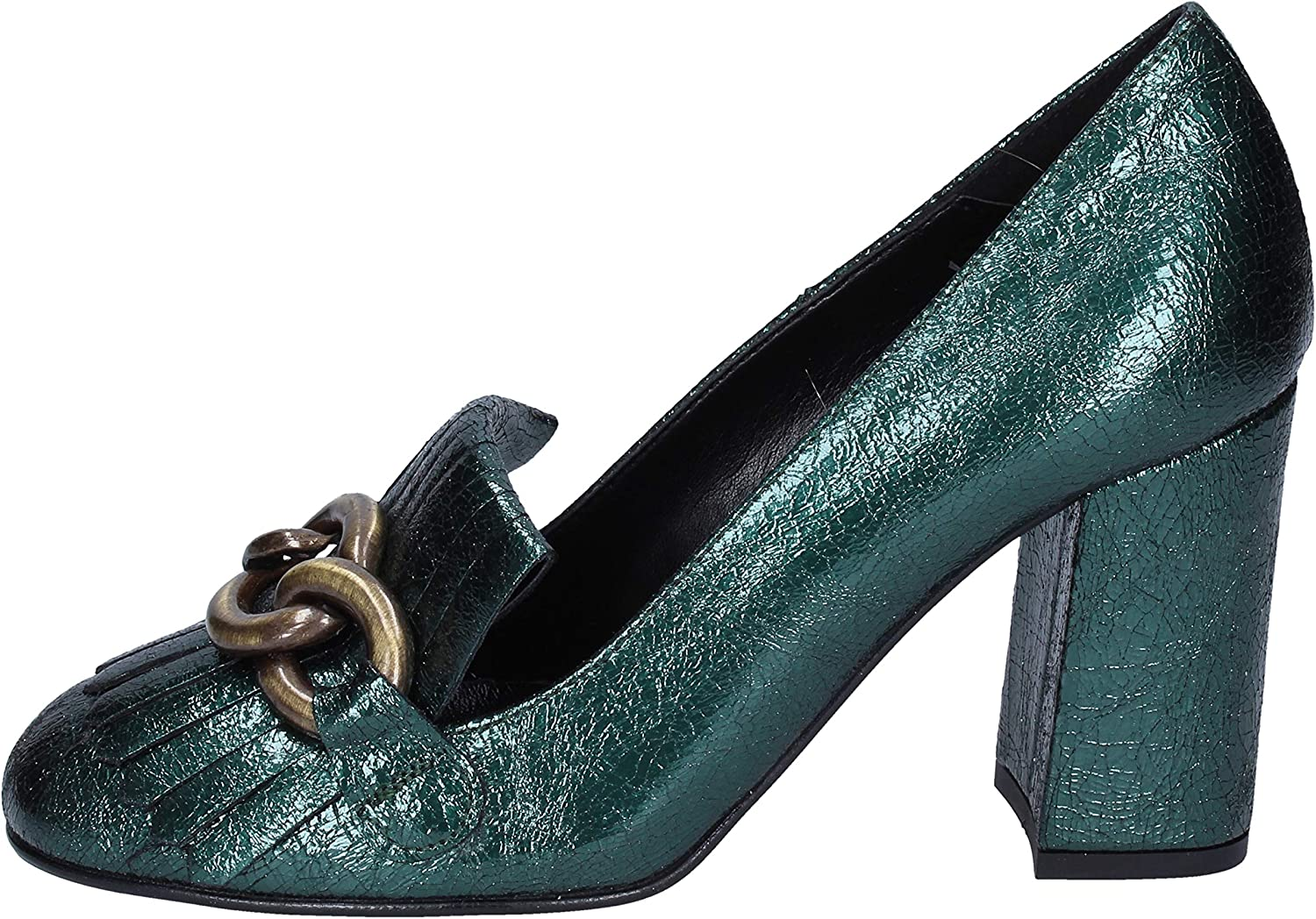 OLGA RUBINI Pumps-shoes Womens Green