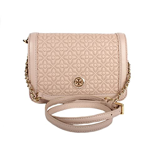 16f4fde66dd Tory Burch Bryant Ladies Small Quilted Combo Leather Crossbody Bag  18169684208