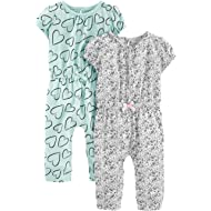 Simple Joys by Carter's Baby Girls' 2-Pack Jumpsuits