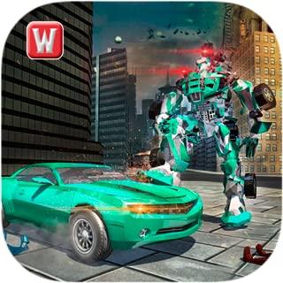 Superhero Robot Epic Battle 3D