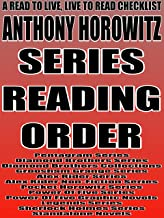 ANTHONY HOROWITZ: SERIES READING ORDER: A READ TO LIVE, LIVE TO READ CHECKLIST [PENTAGRAM, DIAMOND BROTHERS, GROOSHAM GRAN...