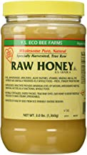 YS Eco Bee Farms RAW HONEY - Raw, Unfiltered, Unpasteurized - Kosher (3 Lb (2 Pack))