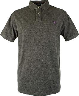 98793d384f06bd Polo Ralph Lauren Men's Big & Tall Heather Classic Fit Mesh Polo Shirt-GH-