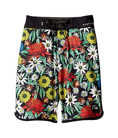 Quiksilver Kids Highline Bush Bandit 18 Boardshorts (Big Kids) (Black) Boy