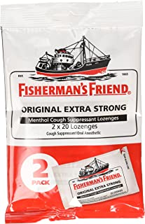 Best Fishermans Friend Original Extra Strong Drops 40ct Review