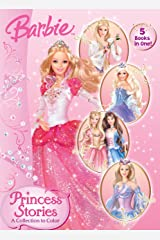 Princess Stories: A Collection to Color (Barbie) Paperback