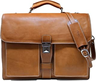 Best mens real leather briefcase Reviews