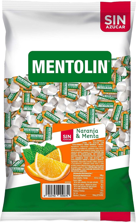 Mentolín Mentolín Naranja Sin Azúcar 1 Kg