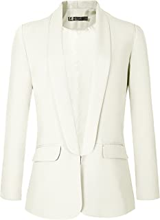 Urban CoCo Women`s Office Blazer Jacket Open Front