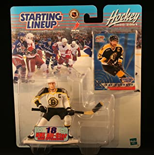 Starting Lineup RAY Bourque / Boston Bruins 2000-2001 NHL Action Figure & Exclusive Collector Trading Card