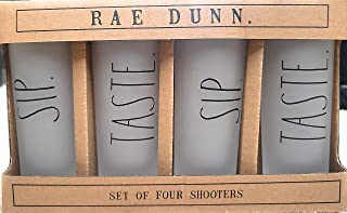 Rae Dunn by Enchante Set of Four Shooters