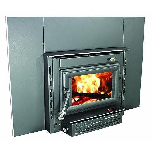 Wood Burning Fireplace Inserts Amazon Com