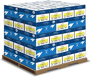 Hammermill Colored Paper, Canary Printer Paper, 20lb, 8.5x11, Letter Paper - 1 Pallet / 40 Cartons