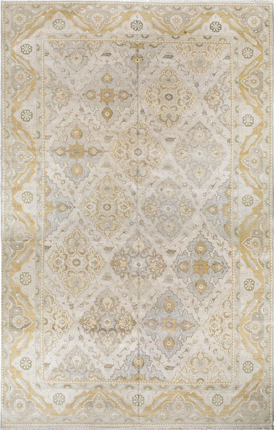 Handknotted Classic Zeigler Rug Bargain Max 42% OFF sale Wool - x 12' 19'