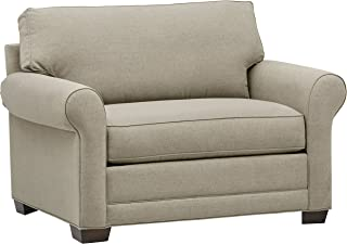 Stone & Beam Kristin Chair-and-a-Half Upholstered Sleeper Sofa, 55.5